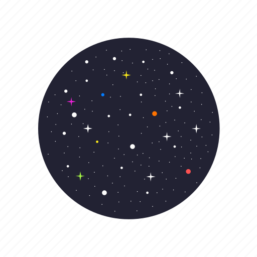 astronomy, sky, space, starry icon