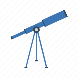 astronomy, lab, night, science, space, star, telescope icon