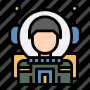 astronaut, cosmonaut, spaceman, space, spacesuit