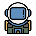 space suit, astronaut, space, safety suit, spaceman