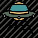 spaceship, ufo, alien, science fiction, space