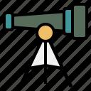 telescope, astronomy, observation, space, binoculars