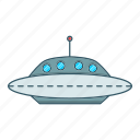 alien, fiction, ship, space icon