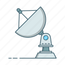 antenna, broadcast, communication, dish icon