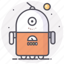 astronomy, robot, robotic, space, star icon