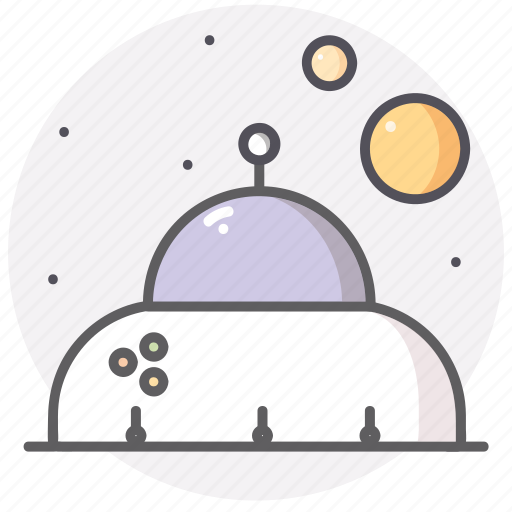 astronomy, science, space, stars, ufo icon