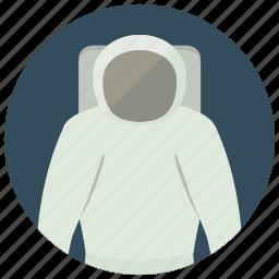 astronaut, helmet, space, uniform icon