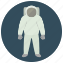 astronaut, outfit, space, uniform icon