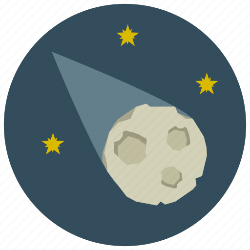 meteor, meteorite, space, star icon