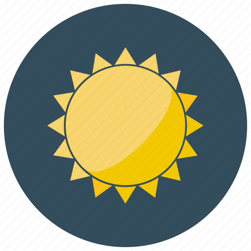 forecast, heat, space, sun, weather icon