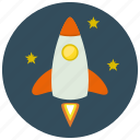device, rocket, technology, transportation icon