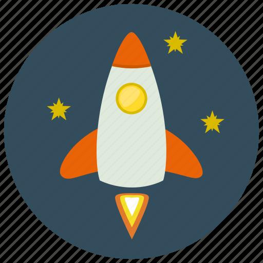 device, rocket, technology, transportation icon