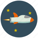 device, rocket, space, transportation icon