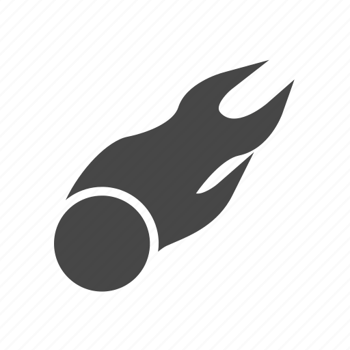 astronomy, comet, hubble, space icon
