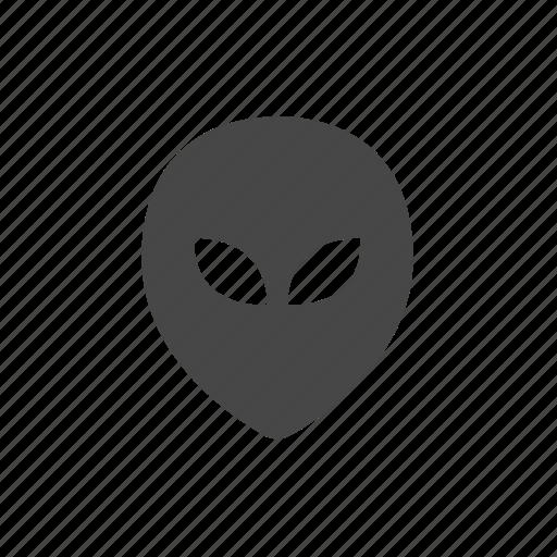 alien, martian, ovni, space icon