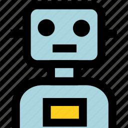 ai, artificial intelligence, automation, machine, robot, robotic icon