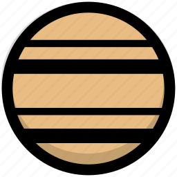astronomy, gastronomy, planet, satellite, saturn, space icon