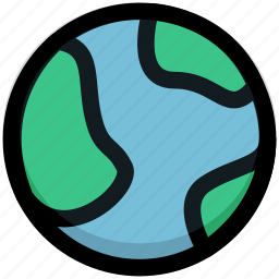 earth, global, globe, internet, network, planet, space icon