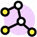 constellation, space, spaceship icon