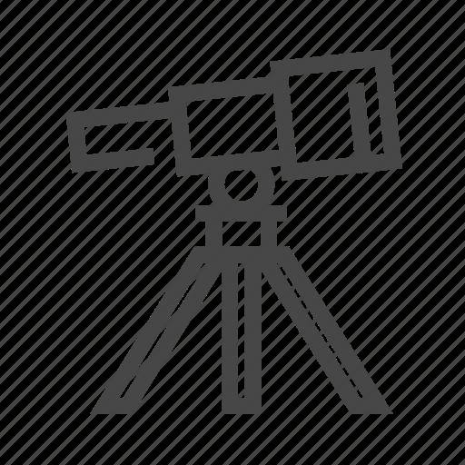 astronomy, binoculars, space, telescope, view icon