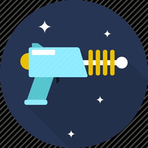 blaster, shotgun, space icon