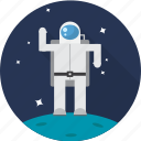 astronaut, nasa, space, spaceman, spaceship icon