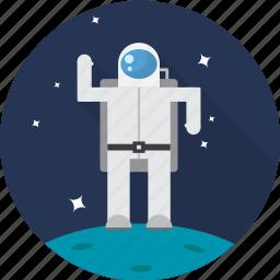 astronaut, nasa, space, spaceman, spaceship icon