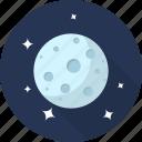 cloud, forecast, moon, night, rain, space, weather