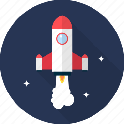 launch, rocket, socket, space, spaceship icon
