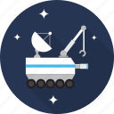 robot, rocket, satellite, space, spaceship, technology icon