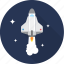 rocket, ship, space, spacecraft, spaceship icon