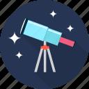 astronomy, binoculars, space, telescope, view