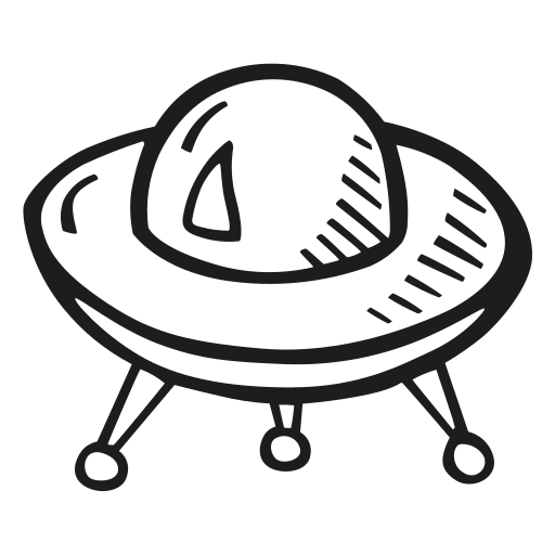alien, astronomy, ship, space, space craft, space ship icon