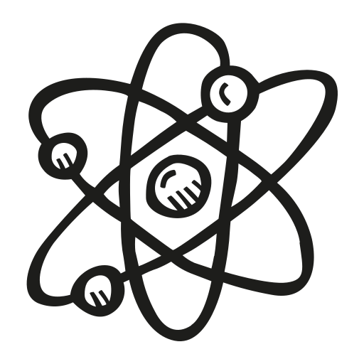 astronomy, atom, scifi, space icon