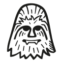 chewbacca, fan art, scifi, star wars, starwars icon