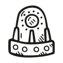 astronomy, capsule, scifi, space, space craft, space ship icon