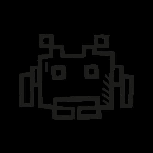 fan art, invader, scifi, space icon