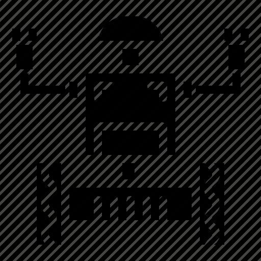 Machine, robot, robotics, science icon - Download on Iconfinder