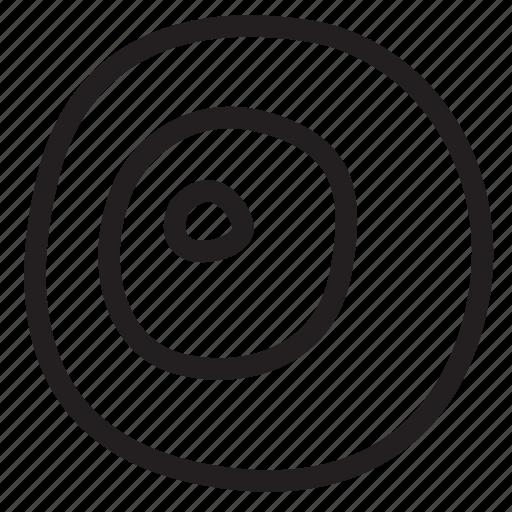center, circle, galaxy, orbit, path, radium, space icon