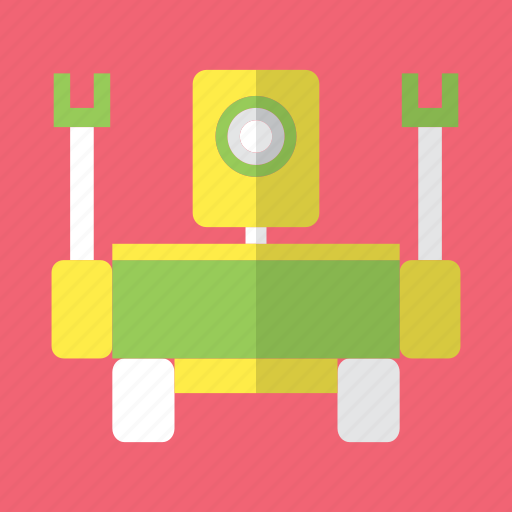 android, camera, eye, robot, robot moon, space, video icon