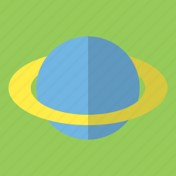 circle, planet, ring, ring planet, saturn, space, star icon