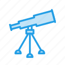 astronomy, lense, mirror, optical, radio, sky, telescope icon
