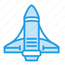 galaxy, invasion, launch, rocket, spaceship, system, universe icon