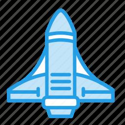galaxy, invasion, launch, rocket, spaceship, system, universe icon