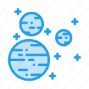 mars, planet, satellite, sky, space, sun, uranus icon