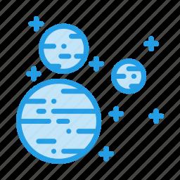 mars, planet, satellite, sky, space, sun, uranus icon
