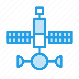 galaxy, invasion, research, satellite, space, spaceship, track icon