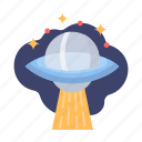 galaxy, spaceship, ufo, alien, space