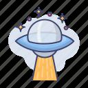 space, galaxy, ufo, astronomy, spaceship, alien