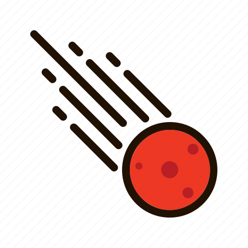 astronomy, meteor, space, spaceship icon